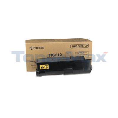 KYOCERA MITA FS-2000D LASER TONER CARTRIDGE BLACK